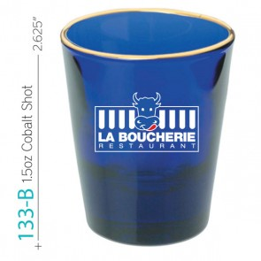 1.5 oz Cobalt Shot Glass