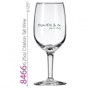 6.25 oz Citation Tall Wine Glass