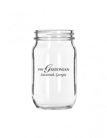 Libbey 24 oz. Glass Drinking Jar