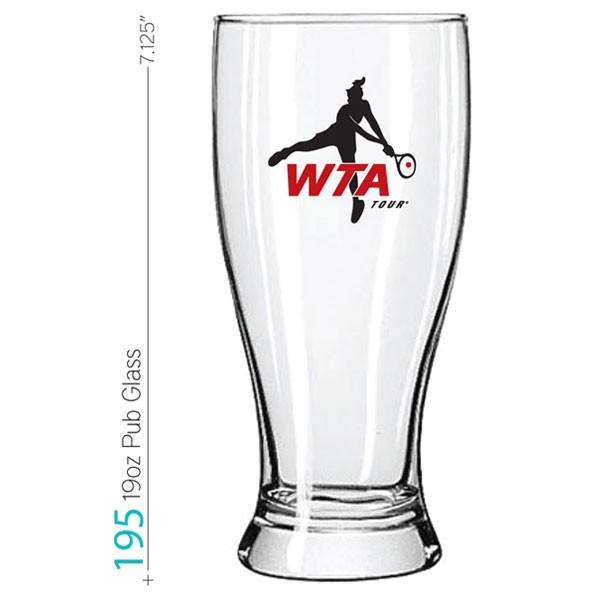 df89ba1d743 19 oz Pub Glass - Pub Glasses - Beer Glasses Promotional Drinkware ...