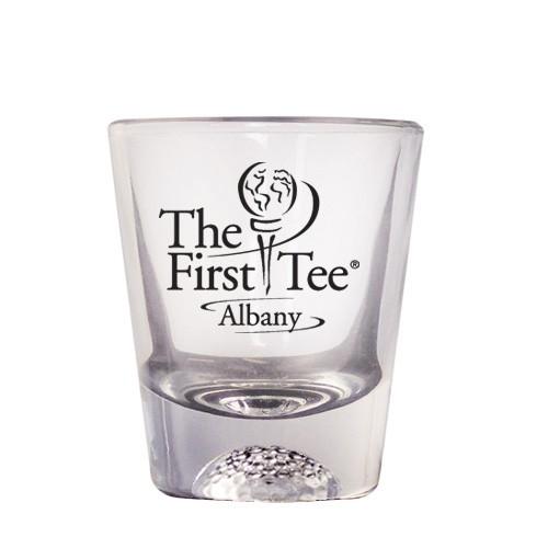5b09b54f85d 1.5 oz Clear Golf Shot Glass CLEARANCE - Sports - Beer Glasses ...