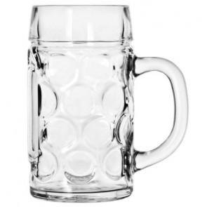 1 Liter Oktoberfest Glass Mug