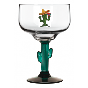 16oz Cactus Stem Margarita Glass