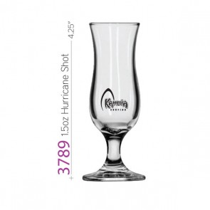 1.5oz Libbey Mini Hurricane Shot Glass