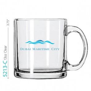 13 oz Beverage Glass Mug
