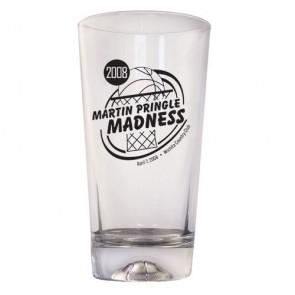 16oz Basketball Cooler Glass