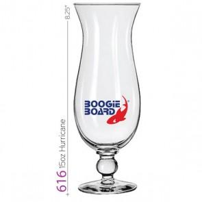 15 oz Hurricane Glass