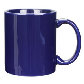 11 oz Vitrified Cobalt C-Handle Mug