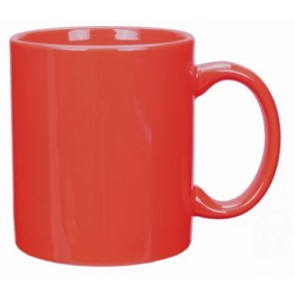 11 oz Red C-Handle Mug