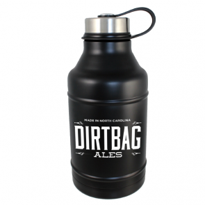DWG64-MB Double Wall Vacuum Insulated Matte Black 64oz Growler