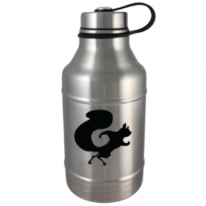 DWG64-SS Double Wall Vacuum Insulated Stainless Steel 64oz Growler