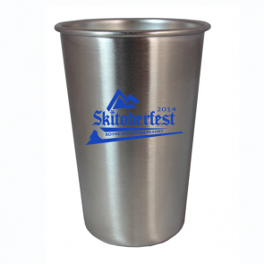 16oz Stainless Steel Festival Beer Cup