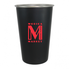 16 oz Black Matte Festival Beer Cup